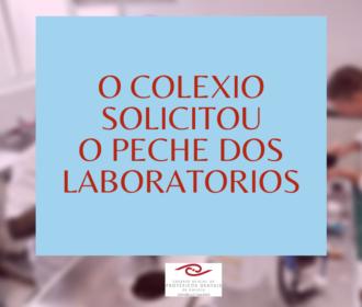 O Colexio solicitou á Xunta o peche das actividades nos laboratorios de protese