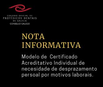 Certificado acreditativo individual