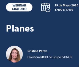 WEBINAR GRATUITO – ISONOR 19 de mayo