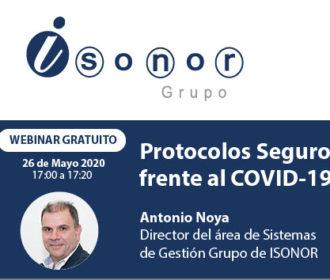 Protocolos seguros fronte o COVID-19