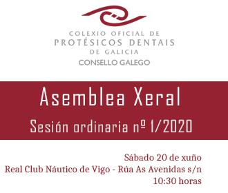 Asemblea Xeral | 20 de xuño