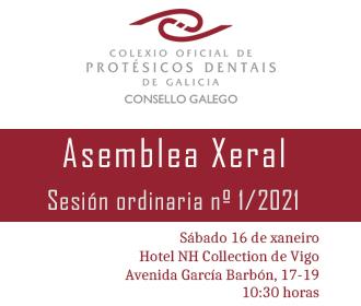 Asemblea Xeral | 16 de xaneiro