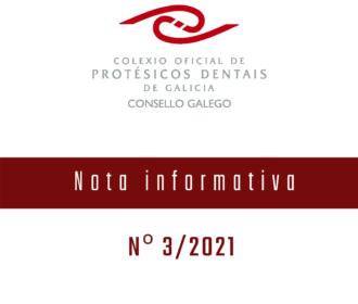 Nota Informativa Nº 3/2021-ERTES