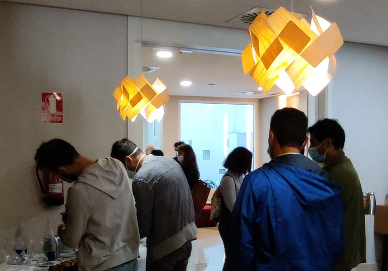 Networking dos asistentes